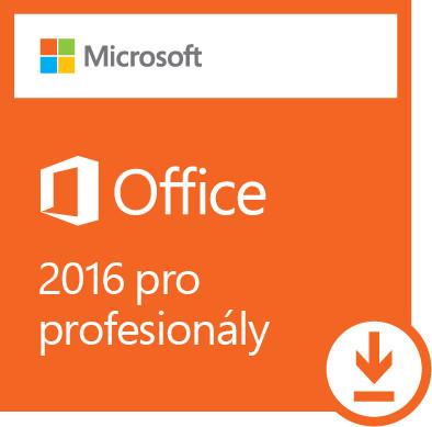 Microsoft Office 2016 pro profesionály - elektronicky