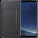 Samsung S8+, Flipové pouzdro LED View, černá