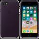 Apple kožený kryt na iPhone 8/7, lilkově fialová