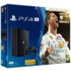 PlayStation 4 Pro, 1TB, černá + FIFA 18 Ronaldo Edition