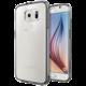 Spigen Ultra Hybrid pouzdro pro Galaxy S6, šedá průhledná