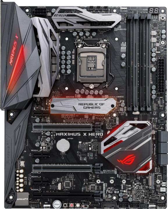 ASUS ROG MAXIMUS X HERO - Intel Z370