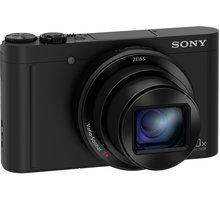 Sony Cybershot DSC-WX500, černá - DSCWX500B.CE3 + Sony pouzdro LCS-BDG pro Cybershot W/WX v ceně 490 Kč