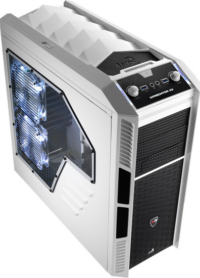 AeroCool XPredator X3 White Edition