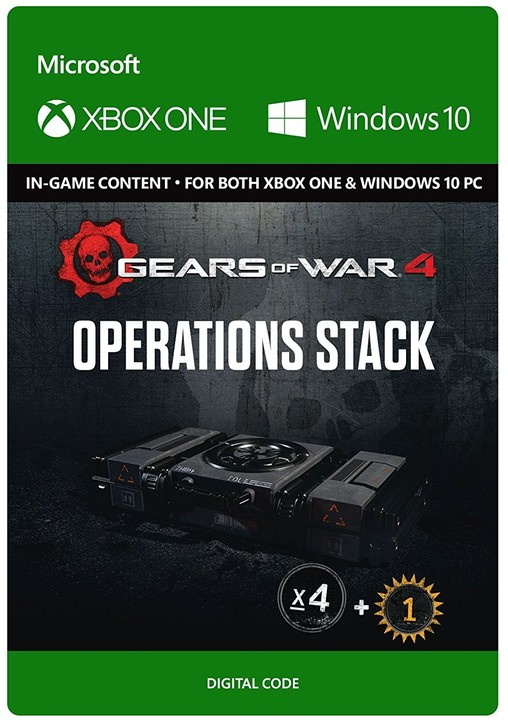 Gears of War 4 - Operations Stack (Xbox Play Anywhere) - elektronicky