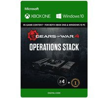 Gears of War 4 - Operations Stack (Xbox Play Anywhere) - elektronicky - PC - 7LM-00008