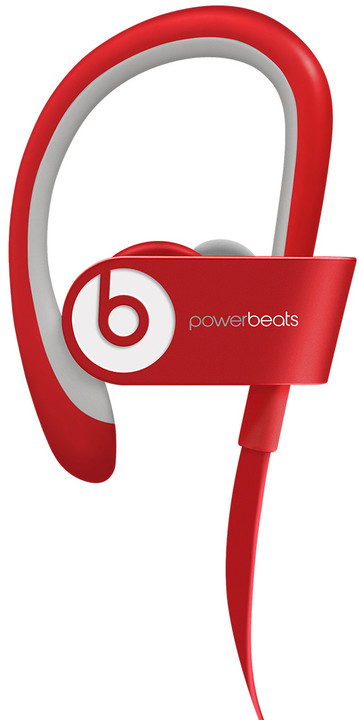 Beats Powerbeats 2, červená