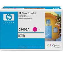 HP CB403A, purpurový