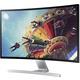 "Samsung T27D590CW - LED monitor 27"""