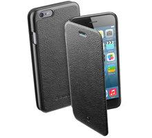 CellularLine pouzdro Book Essential pro iPhone 6, černá - BOOKESSIPH647K