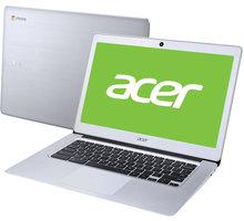 Acer Chromebook 14 (CB3-431-C1KH), stříbrná - NX.GC2EC.001