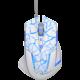 E-Blue Mazer Pro, bílá/modrá  + Podložka pod myš CZC G-Vision Dark v ceně 199,-