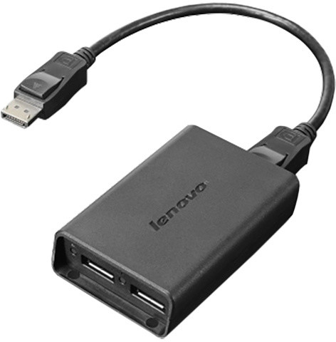 Lenovo DisplayPort to Dual DisplayPort Adapter