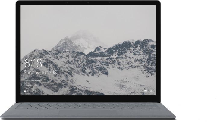Microsoft Surface Laptop, stříbrná