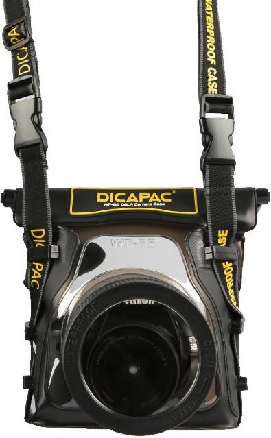 DiCAPac WP-S5 pouzdro pro digitální zrcadlovky střední velikosti se zoomem