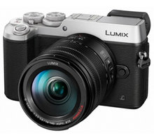 Panasonic Lumix DMC-GX8, stříbrná + objektiv 14-140mm - DMC-GX8HEG-S