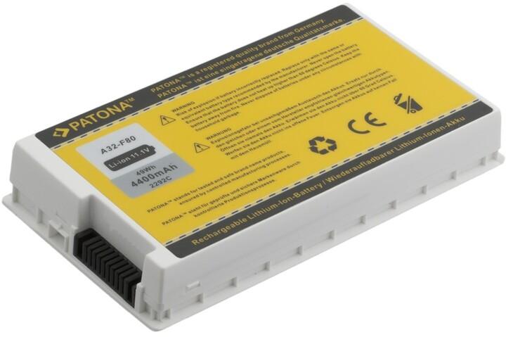 Patona baterie pro Asus A32-F80 4400mAh 11,1V, bílá