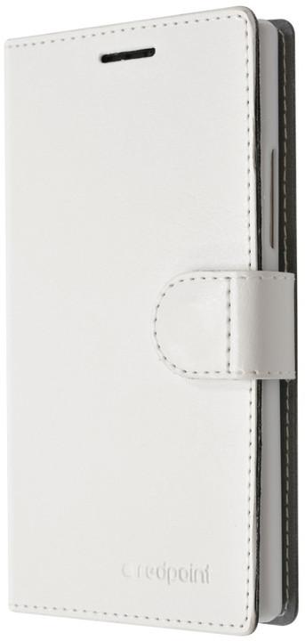 FIXED FIT pouzdro pro Microsoft Lumia 550, kolekce RedPoint, bílá