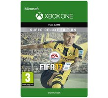 FIFA 17: Super Deluxe Edition (Xbox ONE) - elektronicky - G3Q-00131