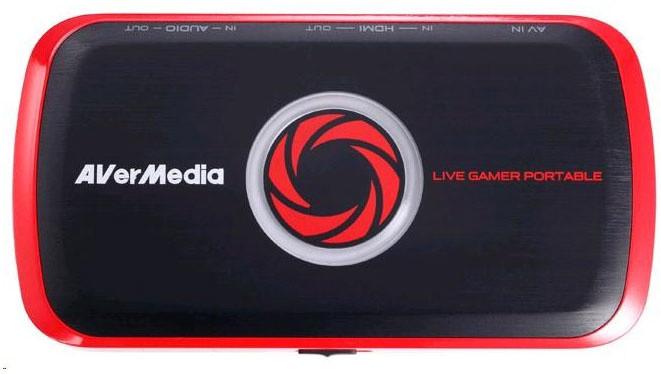 AVerMedia Live Gamer Portable USB, nahrávací zařízení
