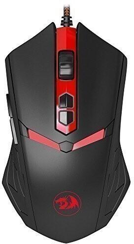Defender Redragon NemeanLion, černá/červená