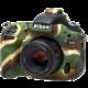 Easy Cover silikonový obal Reflex Silic pro Nikon D750 Camouflage