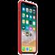 Apple silikonový kryt na iPhone X (PRODUCT)RED, červená