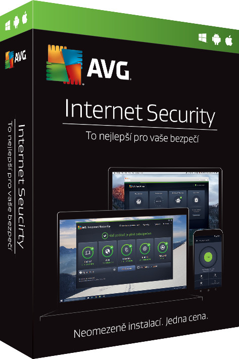 AVG Internet Security - Unlimited, (24 měs.)
