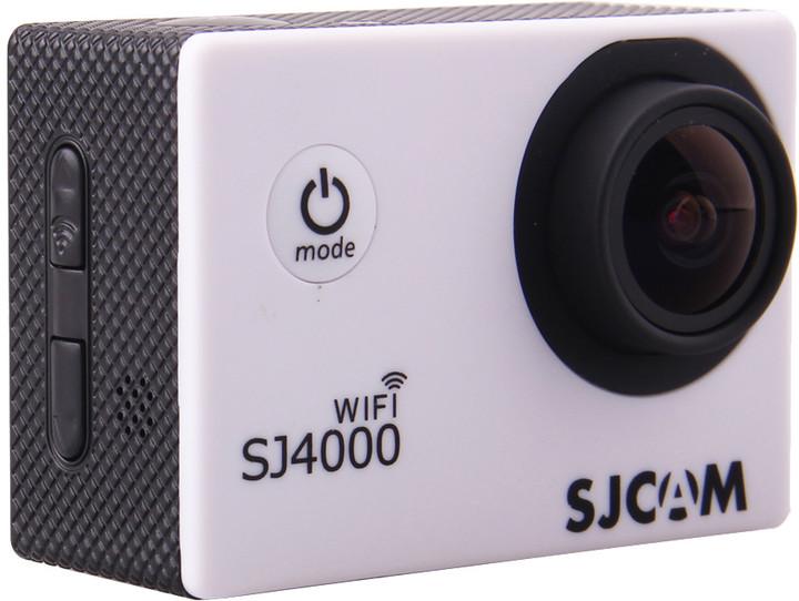 SJCAM SJ4000 WiFi, bílá