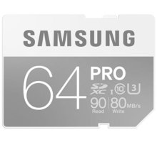 Samsung SDXC PRO 64GB UHS-I U3