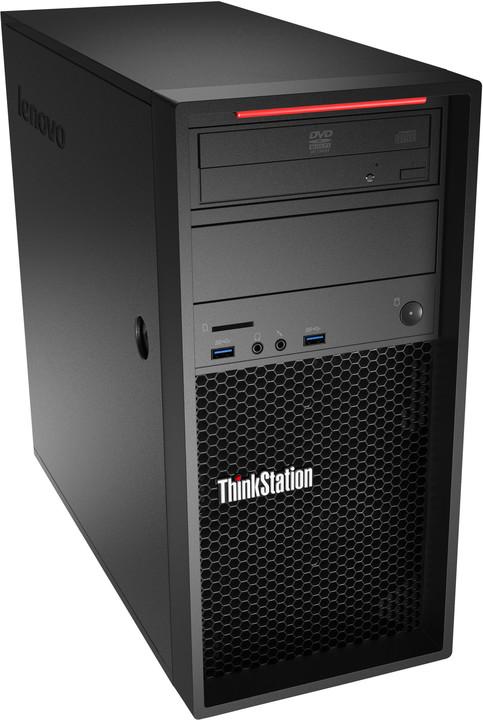 Lenovo ThinkStation P310 TWR, černá