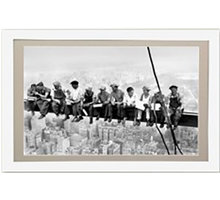 FrameXX PRO 491 digitální fotoobraz, rám bílý - 0252