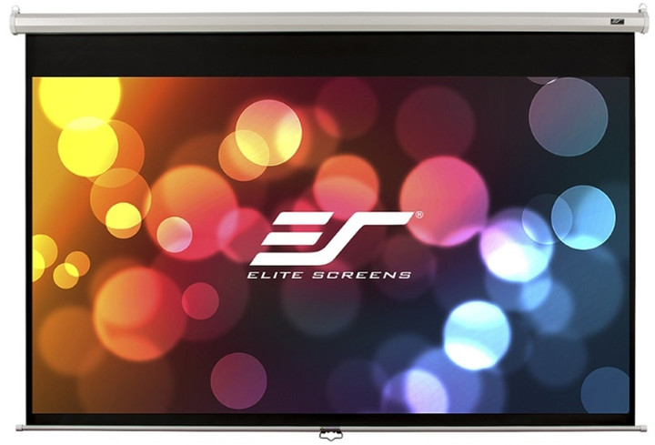 "Elite Screens plátno roleta 100"" (254 cm)/ 16:9/ 124,5 x 221 cm/ case bílý"