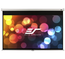 "Elite Screens plátno roleta 100"" (254 cm)/ 16:9/ 124,5 x 221 cm/ case bílý - M100XWH-E24"