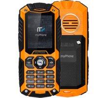 myPhone HAMMER Plus, černá/oranžová - TELMYHHAPOR