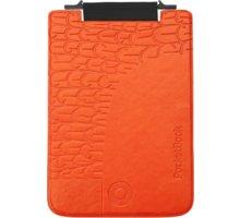 PocketBook pouzdro pro 515, Mini Bird, černooranžová - PBPUC-5-BCOR-BD