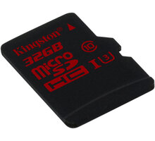 Kingston Micro SDHC 32GB Class 10 UHS-I U3 - SDCA3/32GBSP