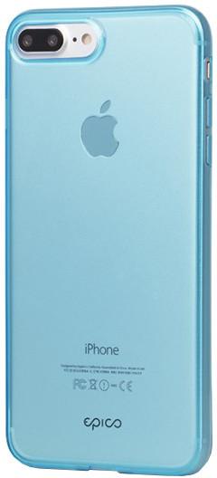 EPICO Ultratenký plastový kryt pro iPhone 7 Plus TWIGGY GLOSS - modrý