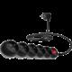 CONNECT IT prodlužovací kabel 230 V, 5 zásuvek, 3 m, s vypínačem (černý)