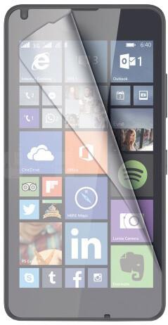 CELLY ochranná fólie displeje pro Microsoft Lumia 640, lesklá, 2ks