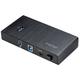 Akasa USB hub Elite 7EX, 7x USB 3.0, 2 nabíjecí porty, černý