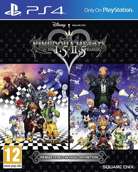 Kingdom Hearts HD 1.5 & 2.5 Remix (PS4)