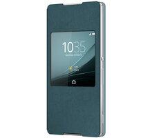 Sony SCR30 Style Cover Window pouzdro pro Xperia Z3+, aqua - ACPLERSCR3053