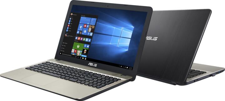 ASUS X541UA-GQ1245T, černozlatá