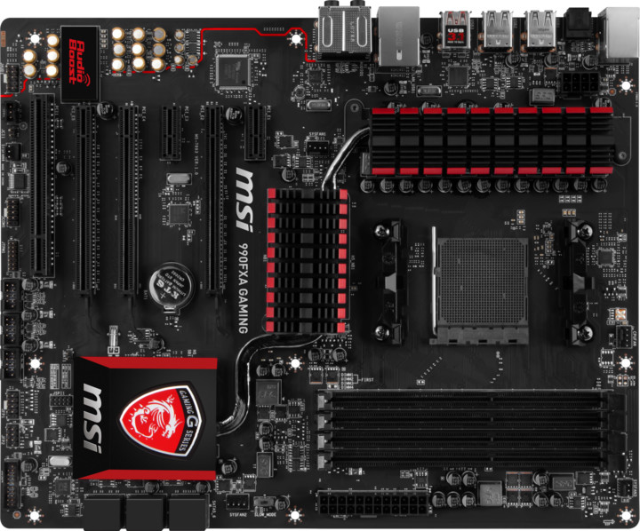 MSI 990FXA GAMING - AMD 990FX