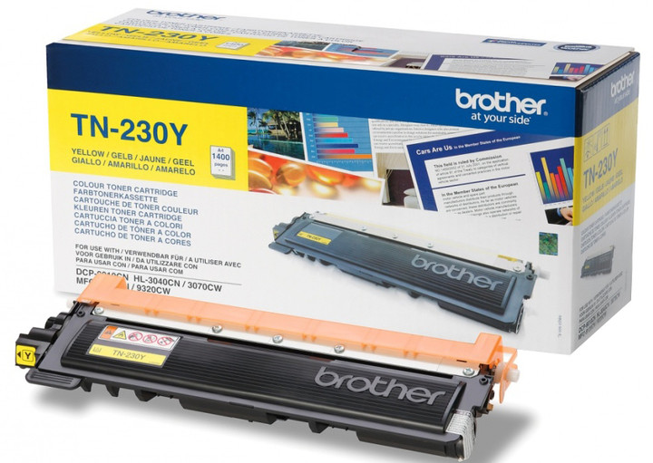 Brother TN-230Y, yellow