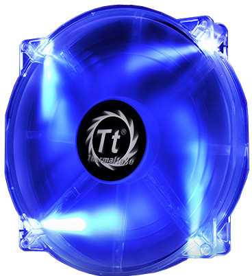 Thermaltake Pure 20 LED, 200mm, modrá