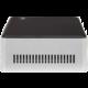 HAL3000 NUC Kit Celeron, černostříbrná