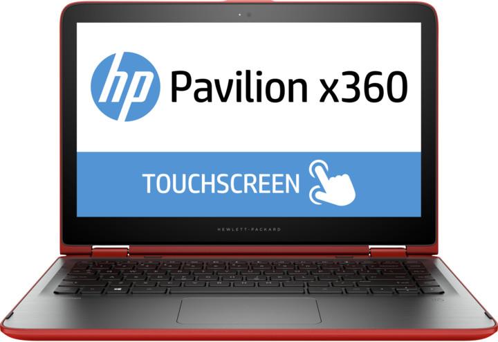 HP Pavilion x360 13 (13-s104nc), červená