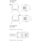 PremiumCord 0,75m kabel SATA 1.5/3.0 GBit/s s kovovou zapadkou